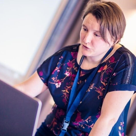 Joke Hollants adviseur digitale vaardigheden d-teach online school