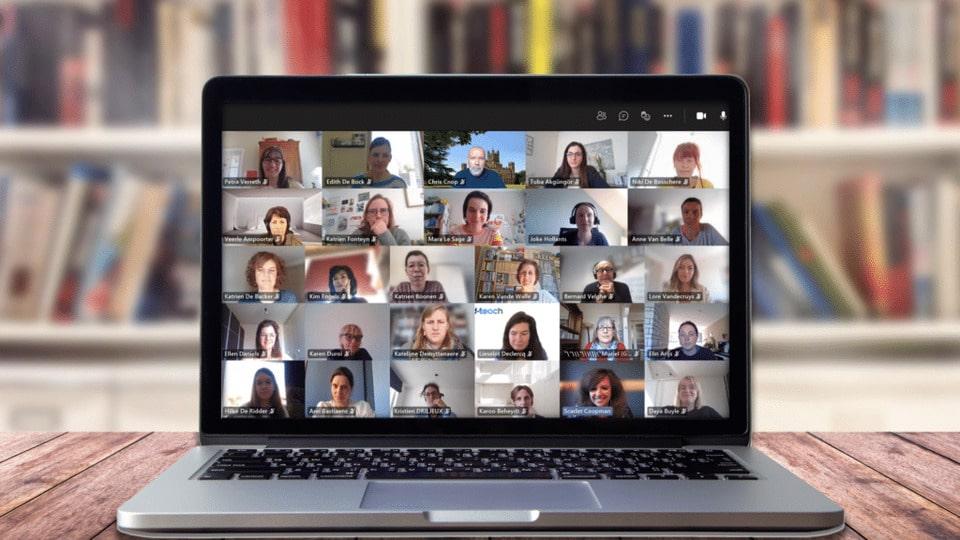 d-teach ondersteunt scholen Brussel bij online leren